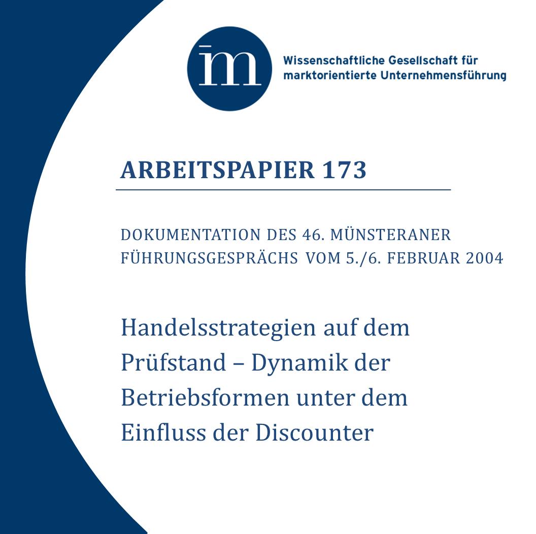 Ap 173 Handelsstrategien Auf Dem Prüfstand Wissenschaftliche